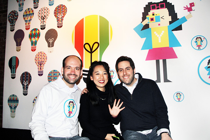 Gregory Galant, Yiying Lu & Lee Lee Semel @ Yiying Lu Shorty Art Show