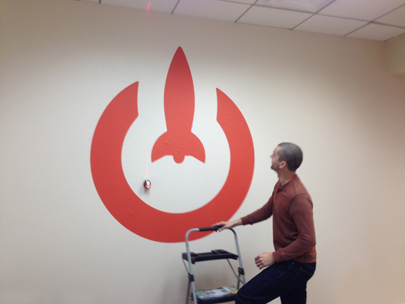 Custom Logo Wall Graphics for LaunchKey!