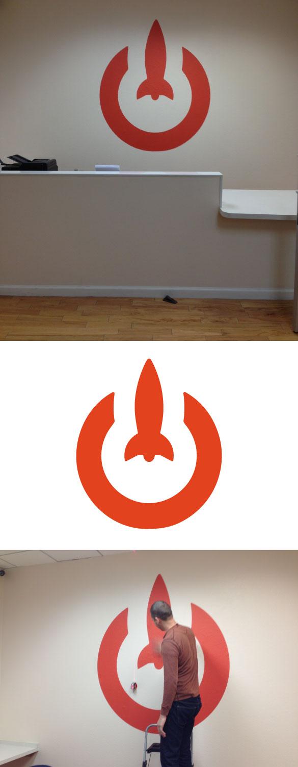 Custom Logo Wall Graphics for LaunchKey!