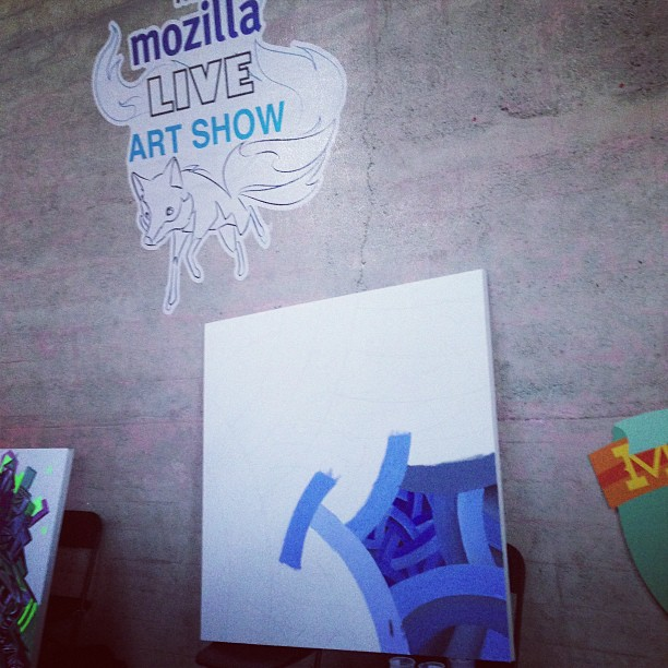 Custom Wall Graphics for UNCUBED SF – Featuring The Mozilla Live Art Show!