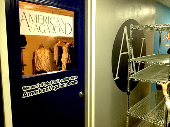 Custom Wall Graphics for American Vagabond at Emergency Arts, Downtown Las Vegas!