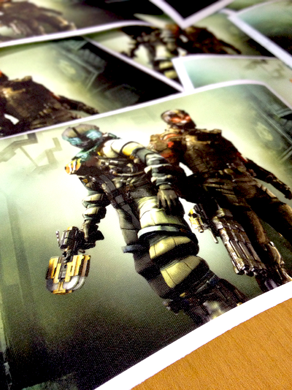 On-Demand Dead Space 3 Wall Graphics for the March 2013 Loot Crate!