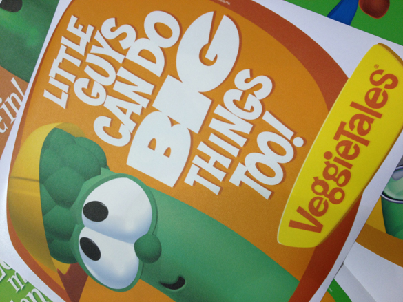 INSPIRING WALLS: New Veggie Tales Wall Graphics from WALLS 360!
