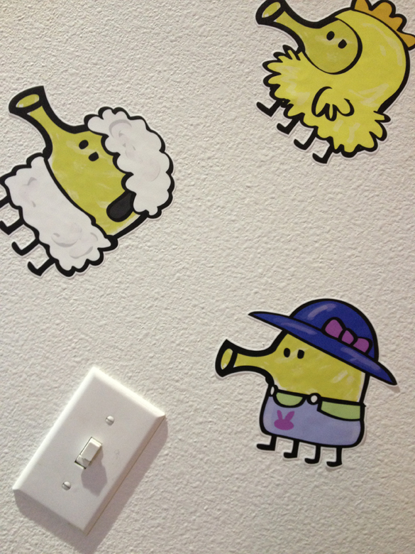 NEW Doodle Jump Wall Graphics!