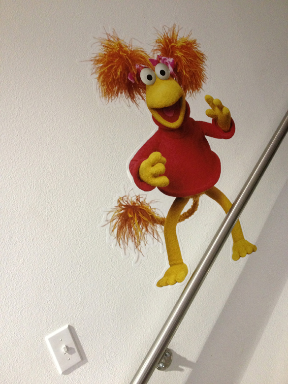 Fraggle Rock Wall Graphics!