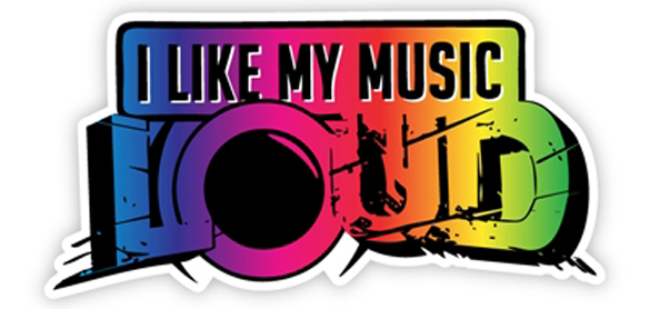 I Like My Music Loud Wall Graphics From WALLS 360!
