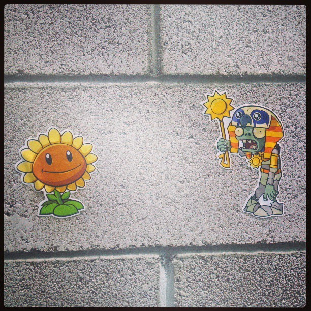 Plants vs. Zombies: New Wall Graphics from Walls360 Launch Today!