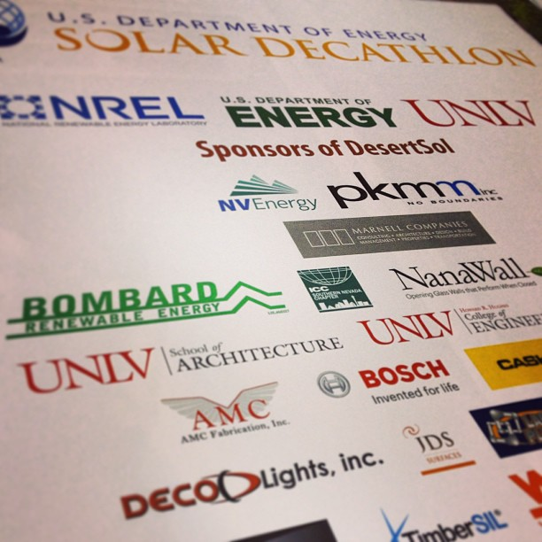 MORE On-Demand Promotional Graphics for DesertSol + The UNLV Solar Decathlon Team!