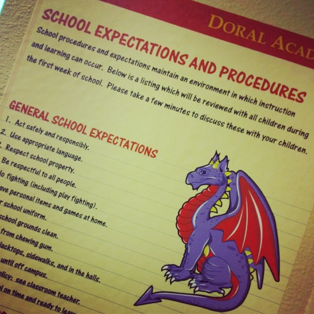 Custom Wall Graphics for The Doral Academy Arts Integration School in Las Vegas!