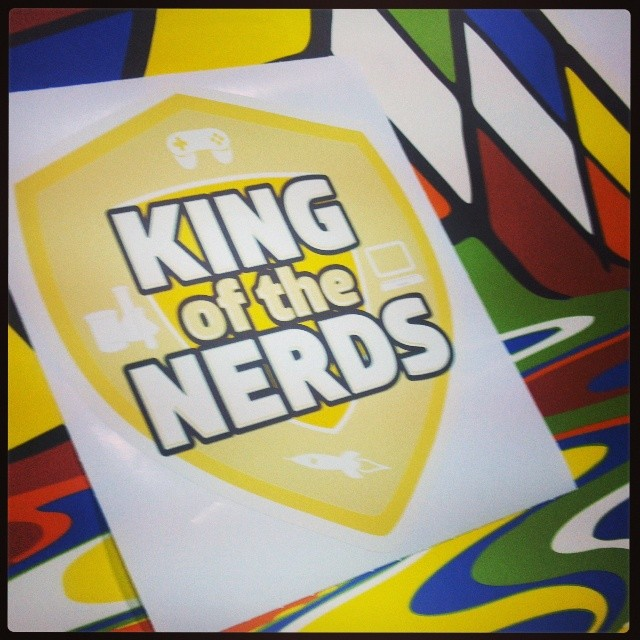 Custom Wall Graphics for King of the Nerds and Loot Crate!