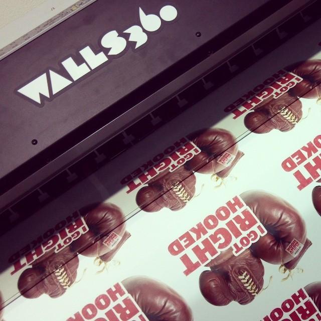 Custom Walls360 Wall Graphics for Gary Vaynerchuk #JJJRH Gift Boxes!