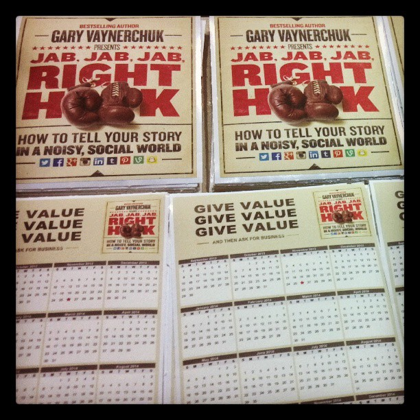 Custom Wall Graphics for Gary Vaynerchuk #JJJRH Gift Boxes!