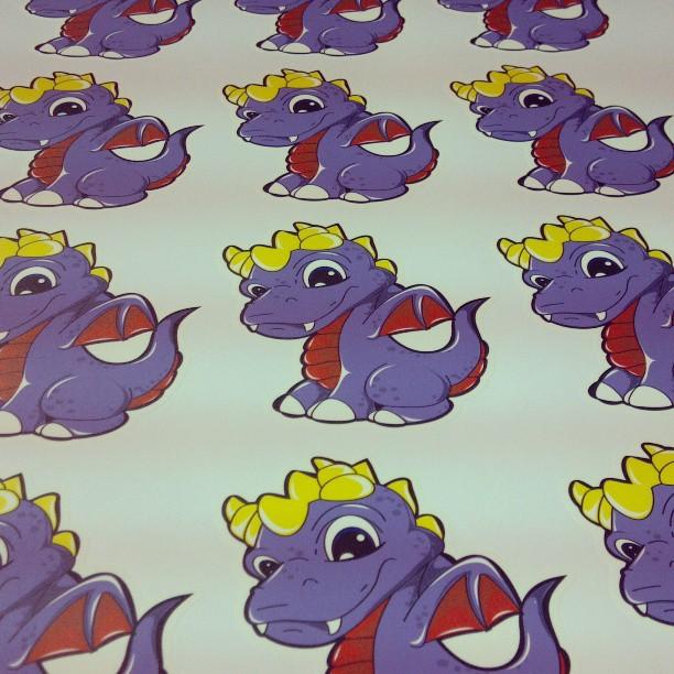 Custom Wall Graphics for Juan Muniz!