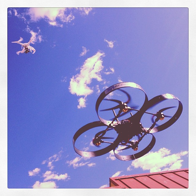 Custom Graphics for Skyworks Aerial Systems at Maker Faire, Las Vegas!