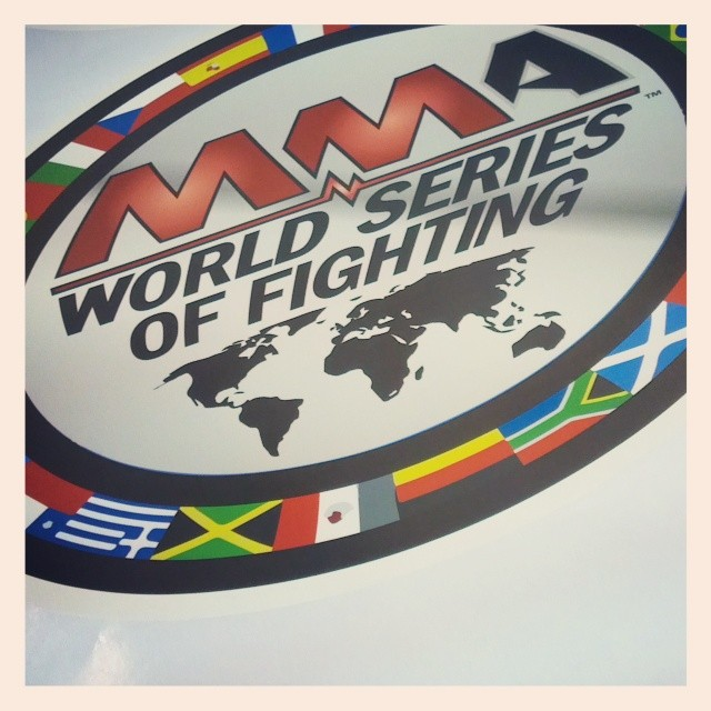 Custom Wall Graphics for the MMA World Series of Fighting #WSOF9 at the Hard Rock Hotel & Casino, Las Vegas