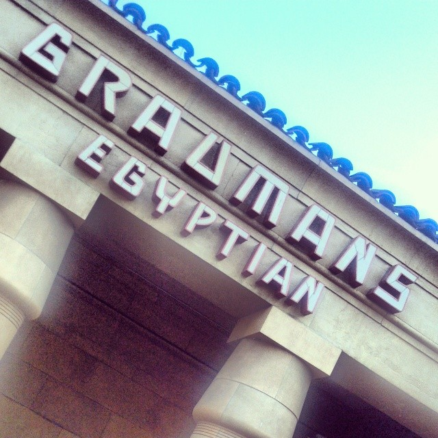 #HumansFromEarth at the Egyptian Theatre: Custom Walls360 Big Wall Graphics