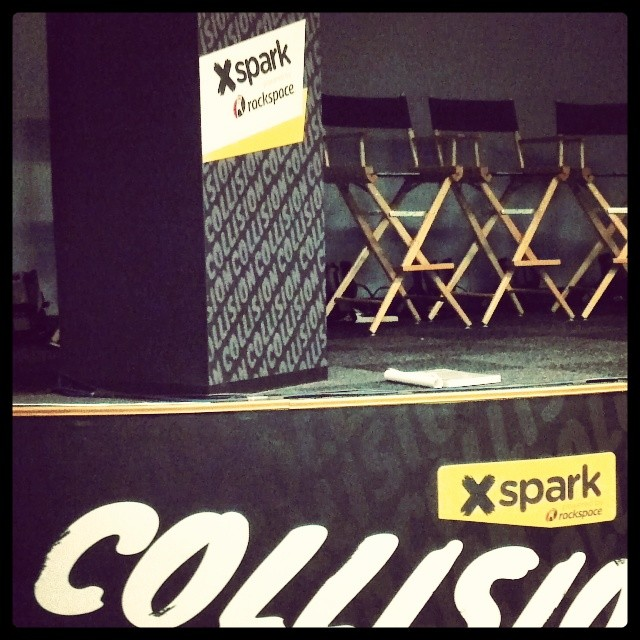Custom Walls360 Wall-to-Wall Graphics for the #CollisionConf in Las Vegas!