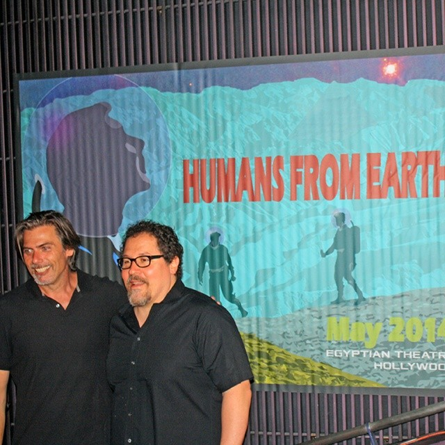 Walls360 Custom Wall Graphics: #HumansFromEarth at the Egyptian Theatre