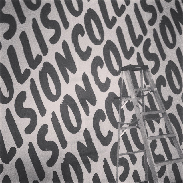 Custom Walls360 Wall Graphics for #CollisionConf Las Vegas!
