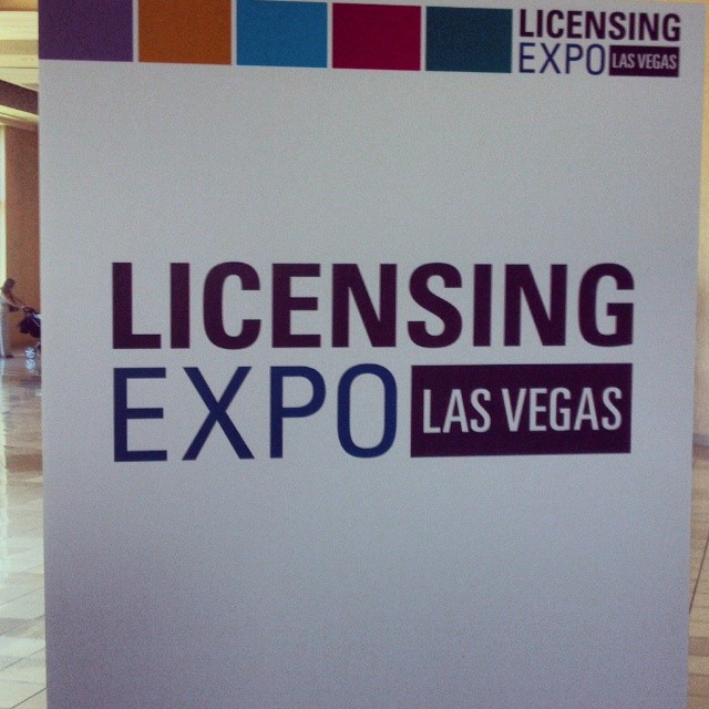 Custom Mad Libs Wall Graphics at the Las Vegas #LicensingExpo!  #VegasMadLibs #Licensing14