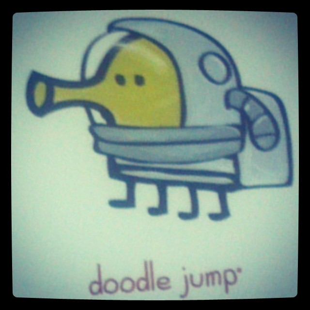 Doodle Jump Custom Promotional Graphics for the Licensing Expo, Las Vegas!  #Licensing14