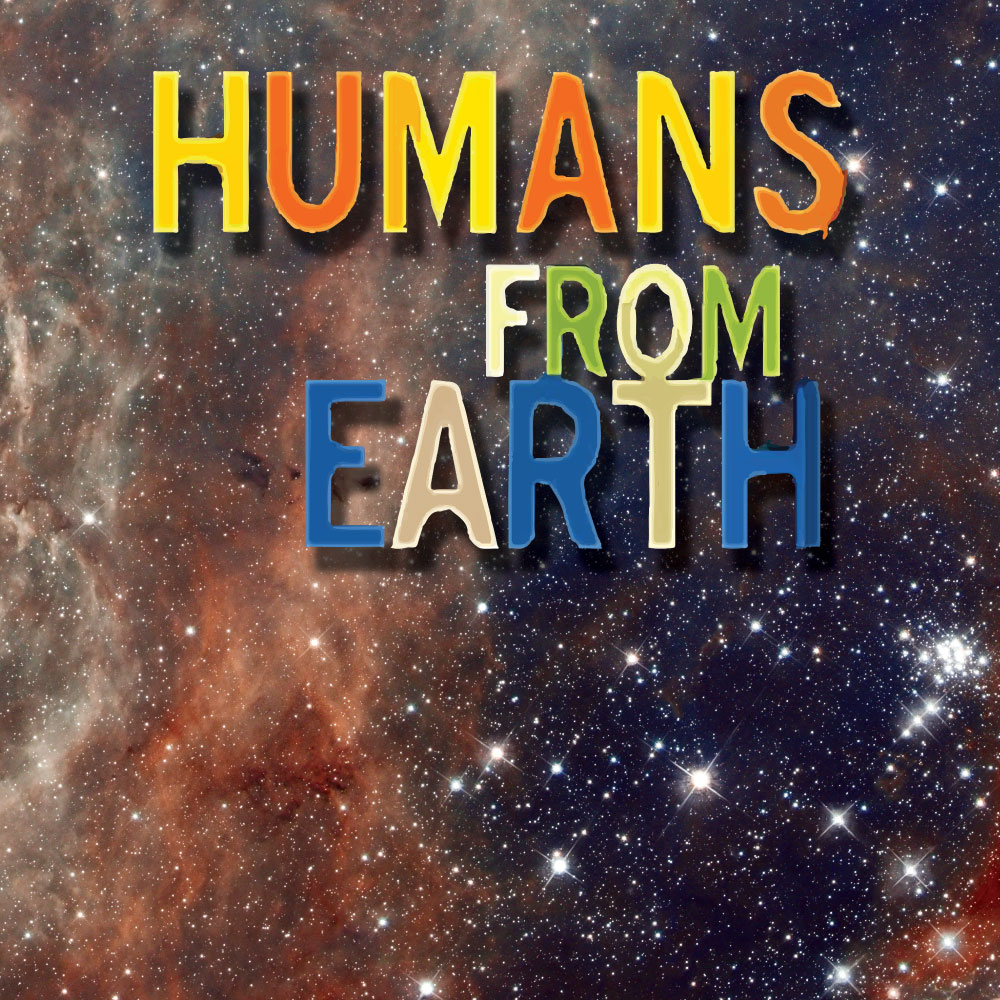 Custom Wall Graphics for #HumansFromEarth at the Egyptian Theatre from Walls360