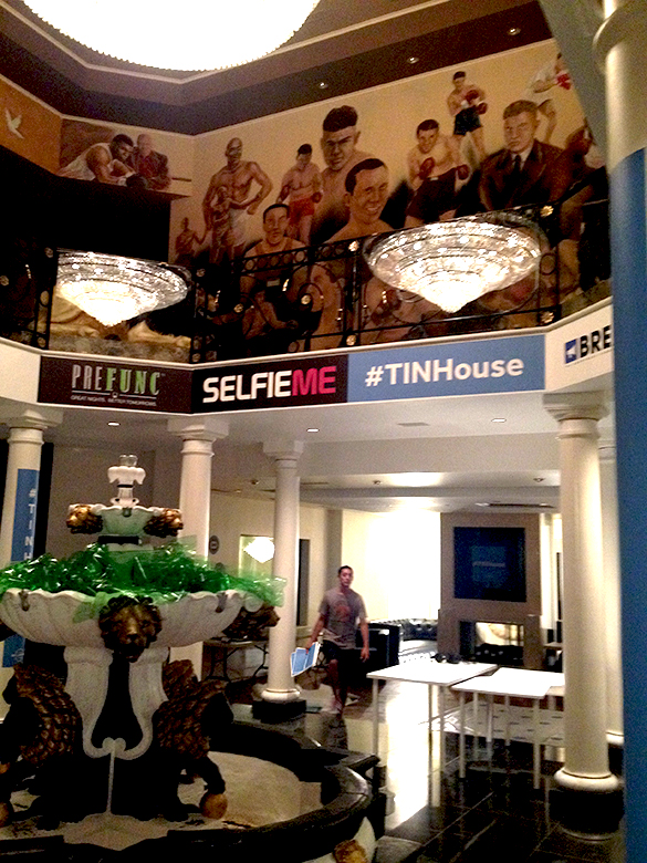 Custom Wall Graphics for #TINHouse at #EDCLV!