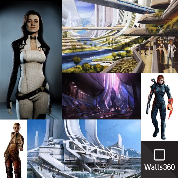 Walls360 July 2014 Super Sale + NEW Mass Effect and Dragon Age Video Game Wall Graphics!