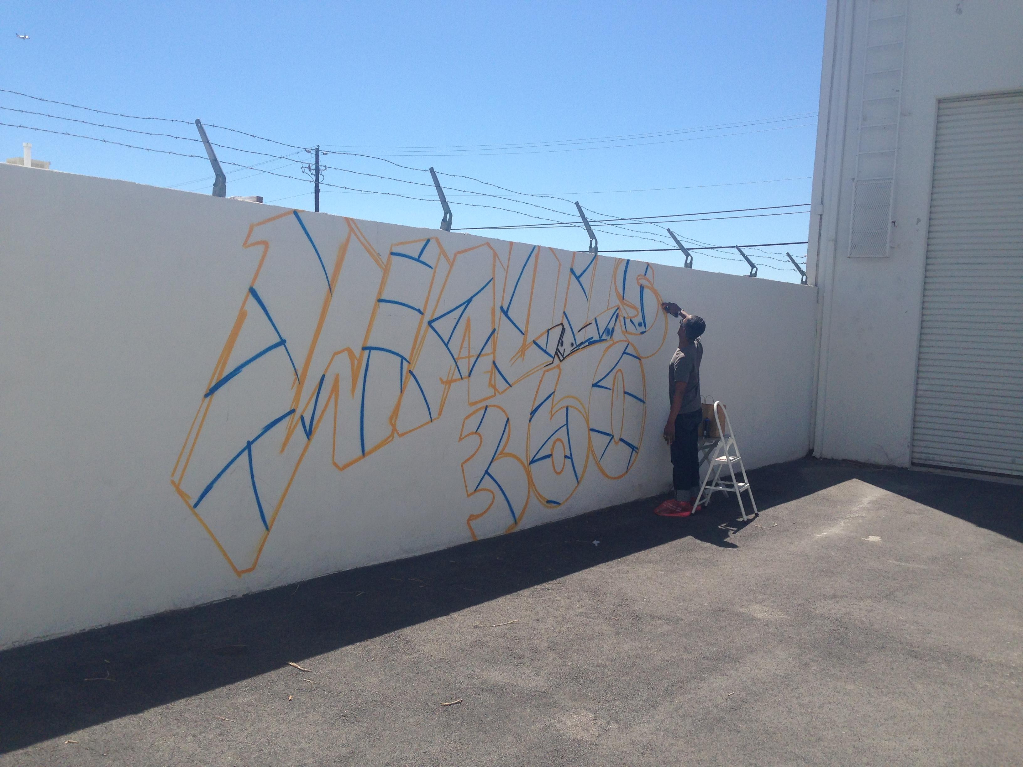 APEX mural at Walls360, Las Vegas