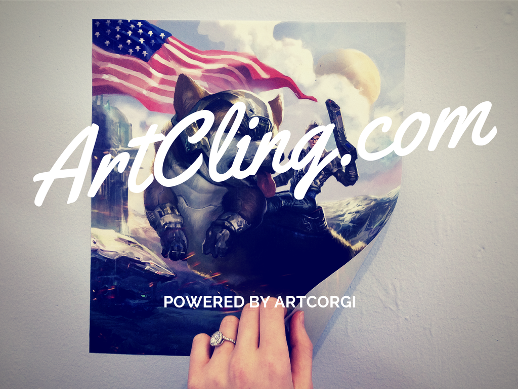 ArtCling Launches Custom Wall Art and On-Demand Artist Murals