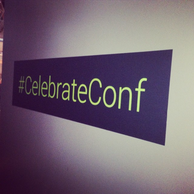 Custom Wall Graphics for Tech Cocktail Celebrate 2014 in Las Vegas #CelebrateConf
