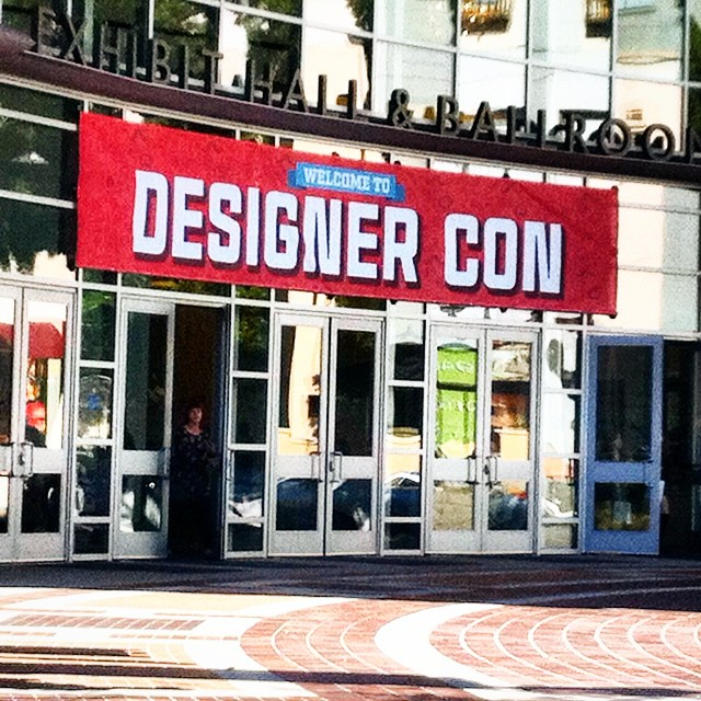 Custom Wall Graphics for #DesignerCon