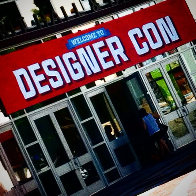 Custom Artist Wall Graphics for #DesignerCon2014