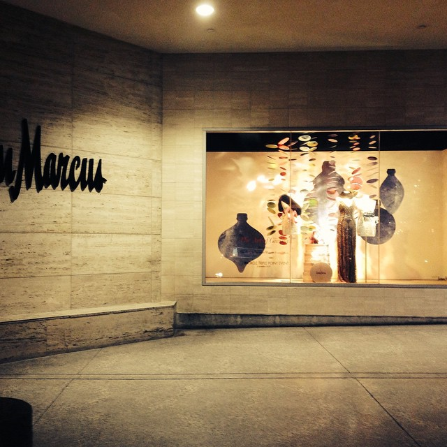 Custom Wall Graphics for Neiman Marcus Holiday Windows!