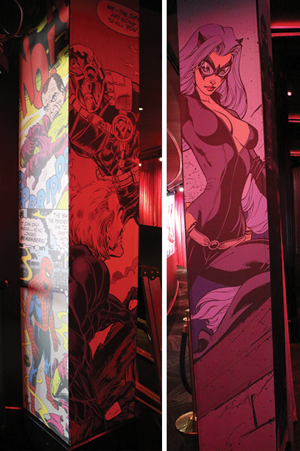 Custom Wall Graphics for Drai's Las Vegas