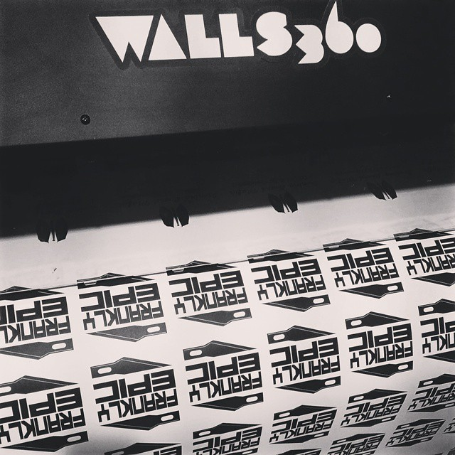 Walls360 Custom Peel & Stick Artist Graphics
