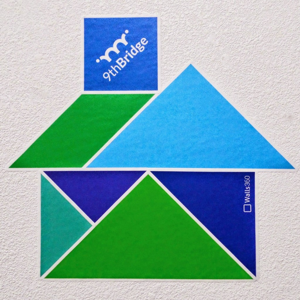Walls360 Tangrams for Teachers: 9th Bridge School in Las Vegas