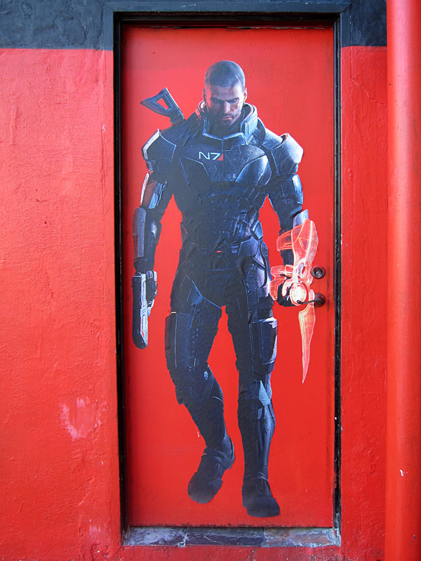 Mass Effect wall graphics from Walls360 (Photos)