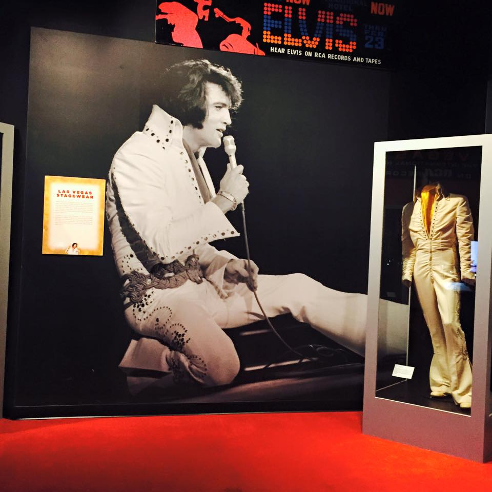 Custom Wall Graphics for GRACELAND PRESENTS ELVIS exhibition in Las Vegas!