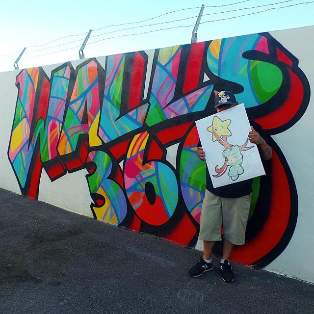 New Juan Muniz Mural and #DoWork Graphics for Doral Academy Arts Integration School