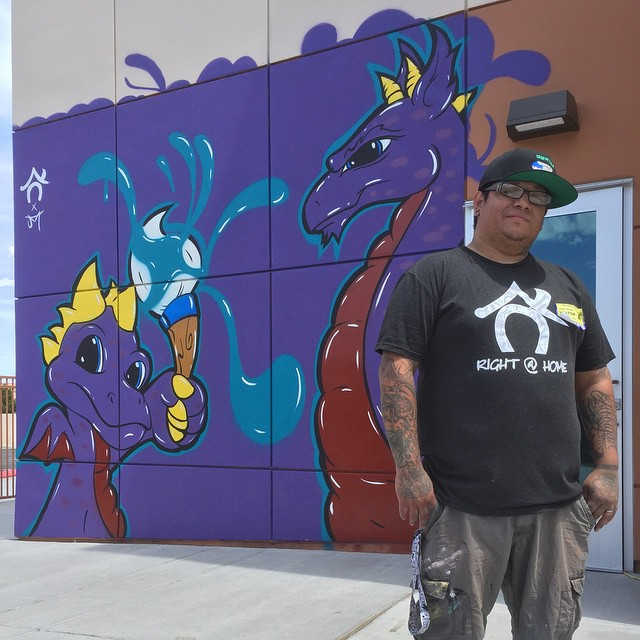 11230316_865957130108073_8Juan Muniz: Doral Dragon Mural + #DoWork Graphics for Students at Doral Academy Arts Immersion School!45265193_n