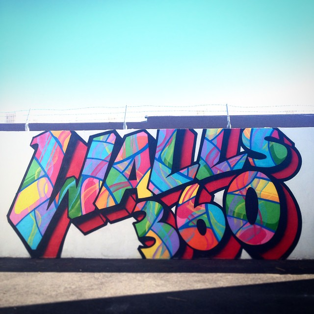 Juan Muniz Mural at Walls360, Las Vegas