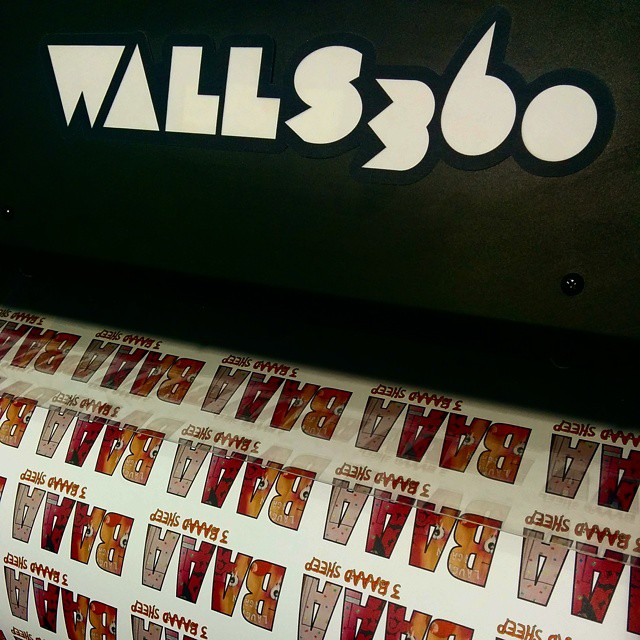 Custom Wall Graphics for Las Vegas Artists at the Walls360 #Licensing15 Open House