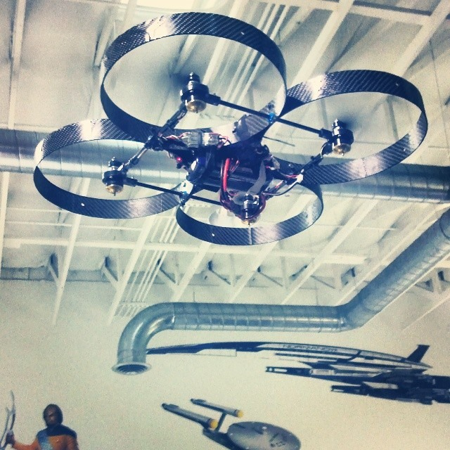 Custom Wall Graphics for Skyworks Aerial Systems Kickstarter Marketing & Rewards!