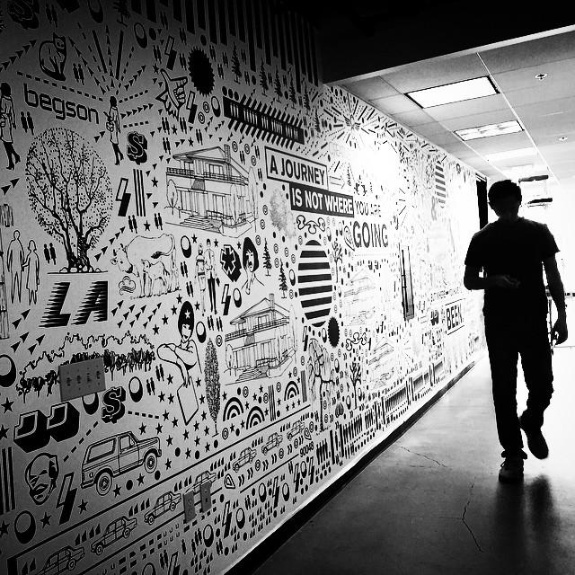 Custom Wall Graphics for DTP Ventures #Begsonland