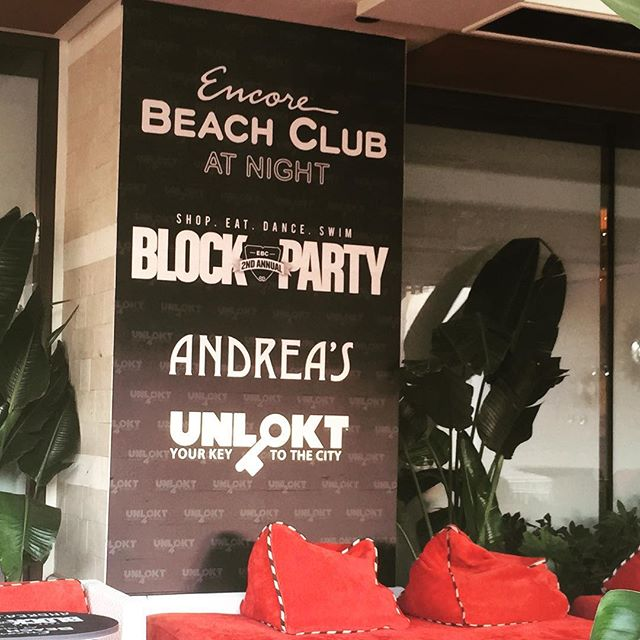 Custom Wall Graphics for Juan Muniz at Encore Beach Club in Las Vegas