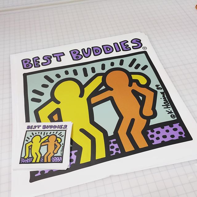 Walls360 Custom Graphics for Best Buddies Nevada: Peel & Stick Event Branding
