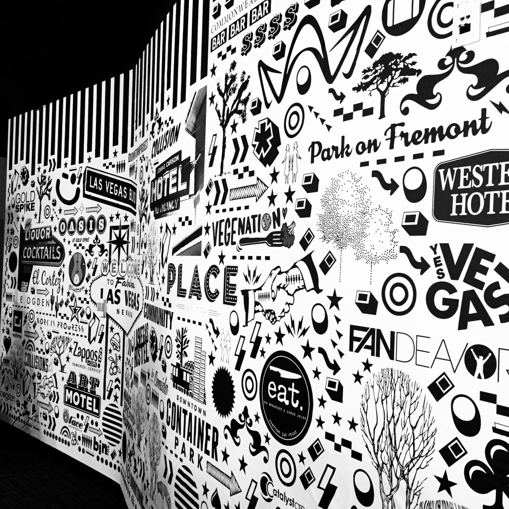 Walls360 custom Begsonland wall graphics for Chargerback