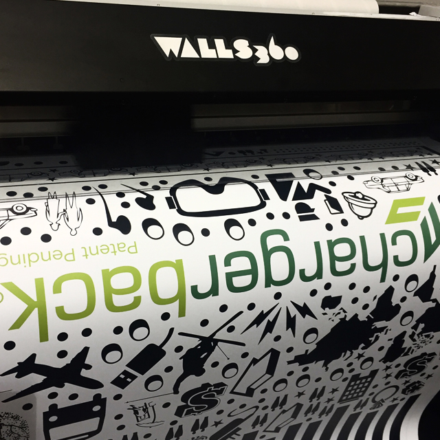 Walls360 Custom Graphics: Begsonland Wall-to-Wall Graphics for Chargerback