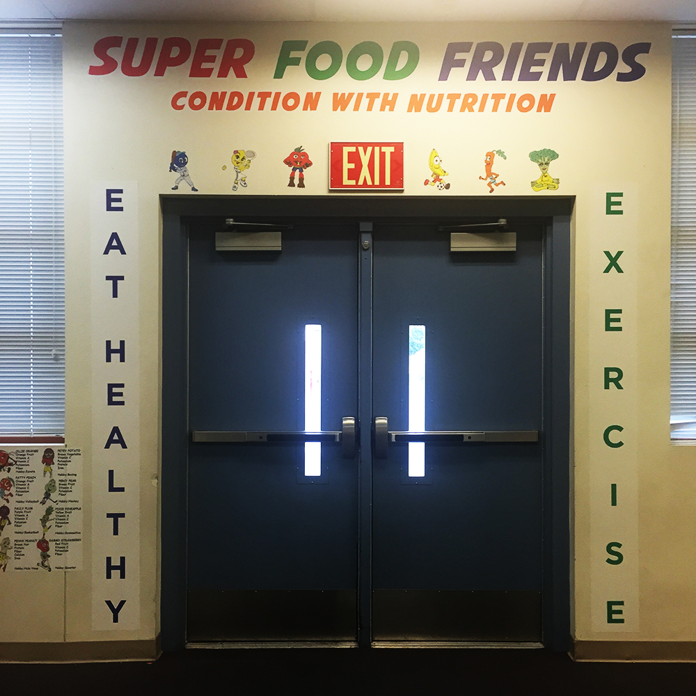 Walls360 Wall Graphics for Booker Elementary School in Las Vegas